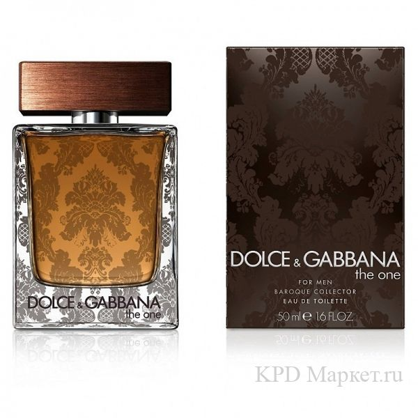 Dolce and Gabbana D&G The One Baroque For Men.Духи,туалетная вода и другой парфюм от Dolce and Gabbana D&G The One Baroque For Men купить в интернет магазине парфюмерии.