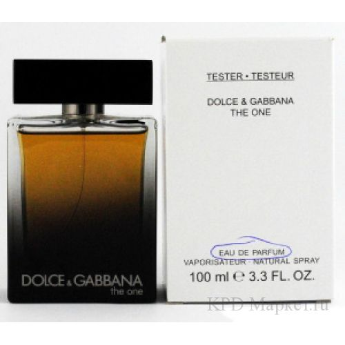 Dolce And Gabbana D&G The One for Men eau De Parfum
