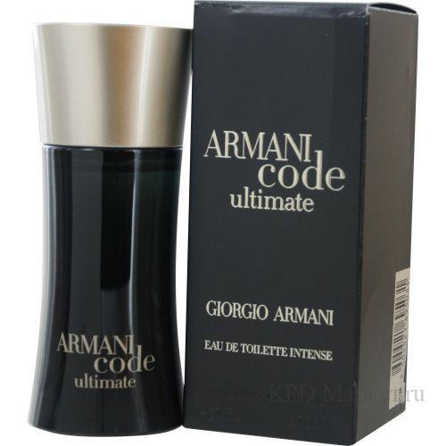 Giorgio Armani Code Ultimate.Духи f1e755ac9629a
