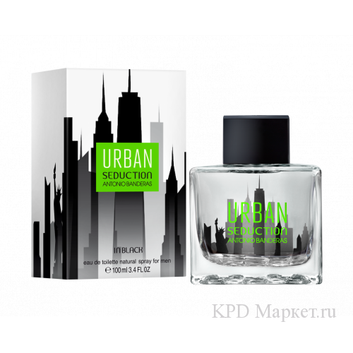 Antonio Banderas Urban Seduction Black