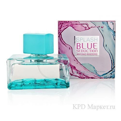 Antonio Banderas Blue Seduction for Women Splash