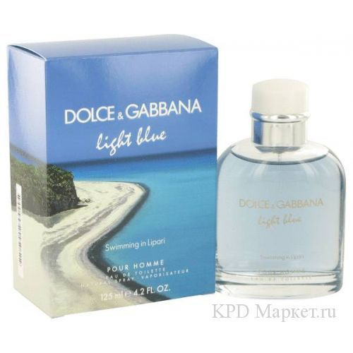 Dolce And Gabbana D&G Light Blue Swimming in Lipari