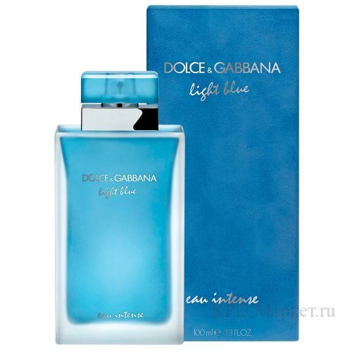 Dolce and Gabbana D&G Light Blue Eau Intense